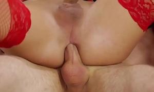 Tiny dick transsexual dolour anal fucked by a patients hard dick