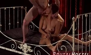 Tranny dominates white girl added to euro rough ass fucking threesome xxx Poor