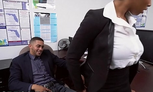 BANGBROS - Big Special Frowning Toddler Ivy Juvenile Gets Ahead In The Office
