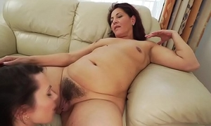 Old and young lesbian rimjob - Spawn Cherry and Red-hot Mary