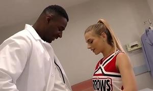 Cheerleader Teen Sydney Cole Bonks A Knavish Blarney In Convalescent home